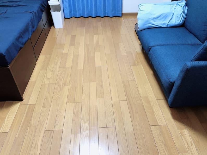 模様替え後の部屋